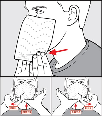 STEP 5: SEAL THE CHIN